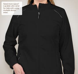 Core 365 Ladies Lightweight Full Zip Jacket - Color: Black