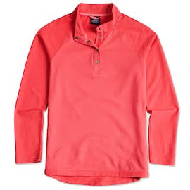Charles River Ladies Snap Button Pullover With Pockets