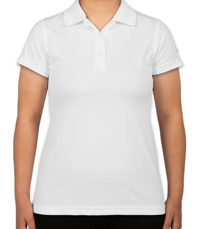 Champion Ladies Double Dry Performance Polo - White