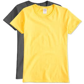 Gildan Ladies 100% Cotton T-shirt