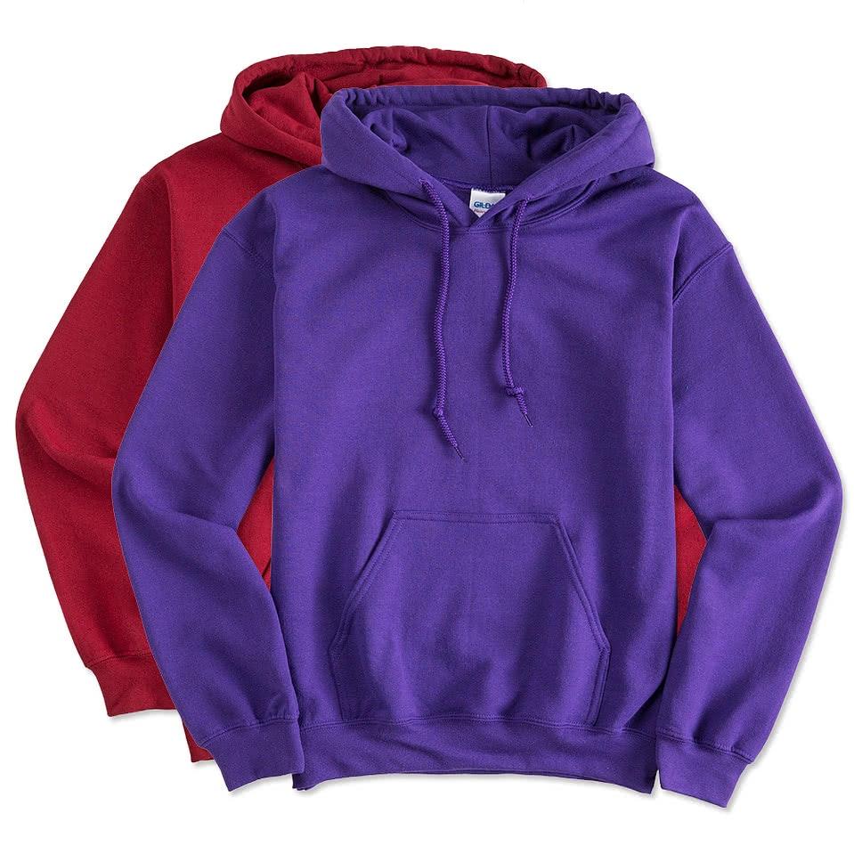 Design Custom Printed Gildan Lightweight Hooded Sweatshirts Online ...