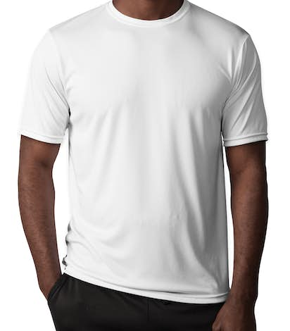 A4 Promotional Performance Shirt - White