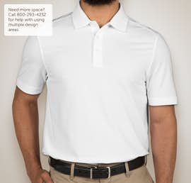 Cutter & Buck Advantage Charged Cotton Polo - Color: White