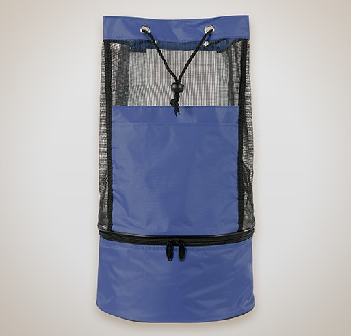 collapsible backpack cooler bag royal blue - Backpack Coolers