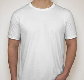 Gildan Softstyle Jersey T-shirt - Color: White