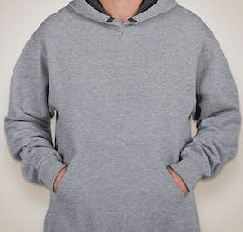 Fruit of the Loom Sofspun Pullover Hoodie - Color: Athletic Heather