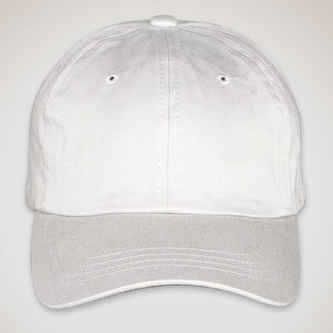 Yupoong Cotton Twill Hat - White