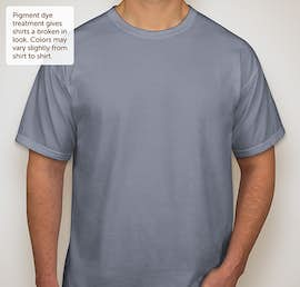 Comfort Colors 100% Cotton T-shirt - Color: Blue Jean