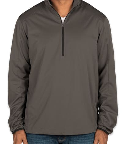 Port Authority Lightweight Active Quarter Zip Soft Shell Jacket - Grey Steel