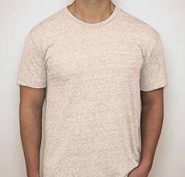 American Apparel USA-Made Tri-Blend T-shirt - Color: Tri-Oatmeal