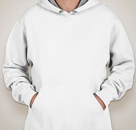 Fruit of the Loom Sofspun Pullover Hoodie - Color: White