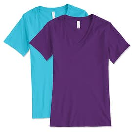 Bella + Canvas Ladies V-Neck T-shirt