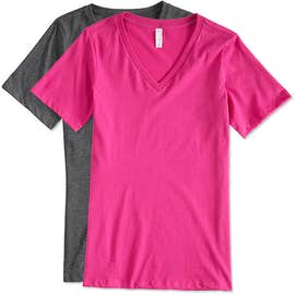 Canada - Bella Ladies V-Neck T-shirt