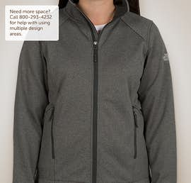 The North Face Ladies Ridgeline Soft Shell Jacket - Color: Dark Grey Heather