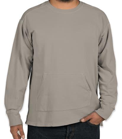 delta classics comfort sweatshirt kappa campus colors gray comforter crimson crewneck new