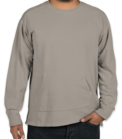 Comfort Colors French Terry Crewneck Sweatshirt - Grey