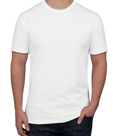 Next Level Jersey T-shirt - White