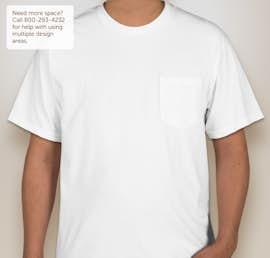 Gildan Hammer Pocket T-shirt - Color: White