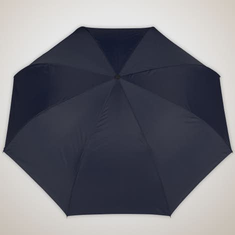 """48"""" Inverted Double Layer Umbrella with C Handle - Navy"""