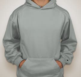 Badger Performance Pullover Hoodie - Color: Silver