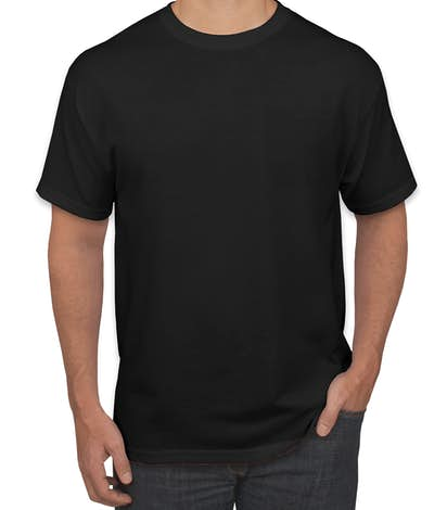 Custom Canada Jerzees 50 50 Pocket T Shirt Design T