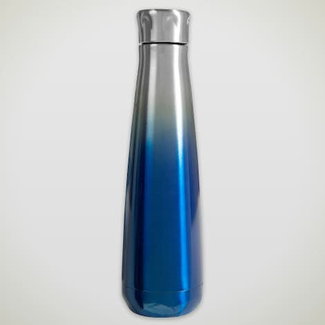 16 oz. Svelte Stainless Steel Ombre Insulated Water Bottle - Ombre Blue