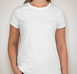 GAP Ladies Vintage Wash Crewneck Tee - Color: Optic White