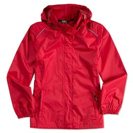 Core 365 Ladies Waterproof Ripstop Jacket