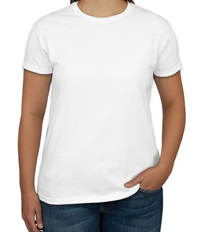 Canada - Gildan Ultra Cotton Ladies T-shirt - White