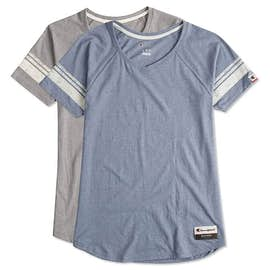 Champion Authentic Ladies Tri-Blend Varsity T-shirt