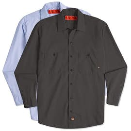 Dickies Lightweight Industrial Long Sleeve Work Shirt