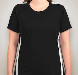 Canada - ATC Ladies Competitor Colorblock Performance Shirt - Color: Black / White