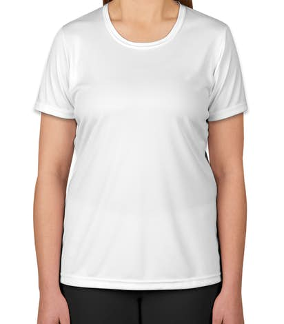 Sport-Tek Ladies Competitor Performance Shirt - White