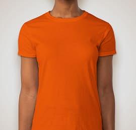 Gildan Ultra Cotton Ladies T-shirt - Color: Orange