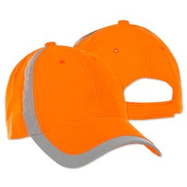Big Accessories Reflective Safety Hat