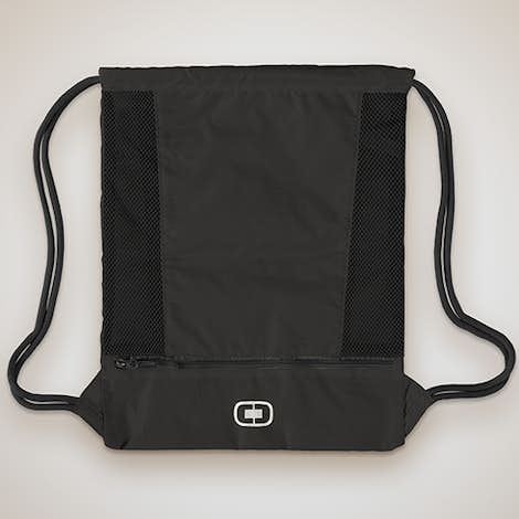 Ogio Pulse Drawstring Bag - Black