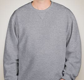 Fruit of the Loom Soft Spun Crewneck Sweatshirt - Color: Athletic Heather