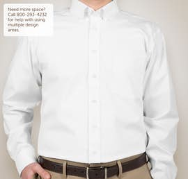 Devon & Jones Solid Dress Shirt - Color: White