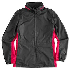Port Authority Ladies Core Colorblock Full Zip Jacket