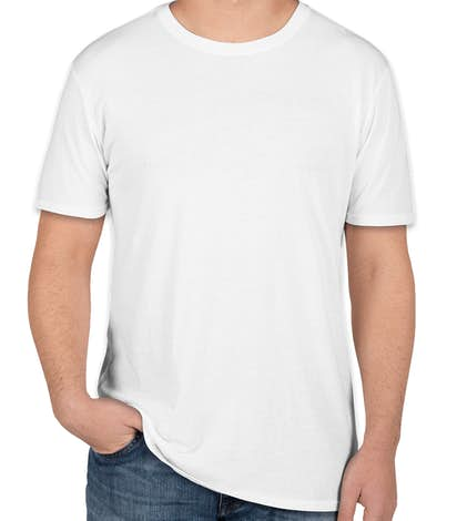 Threadfast Lightweight Pigment Dyed T-shirt - White