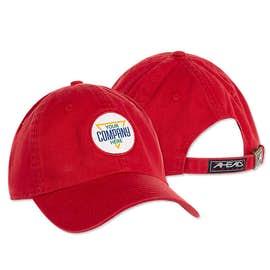 Printed Circle Patch Baseball Hat