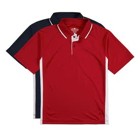 Charles River Tipped Pique Performance Polo