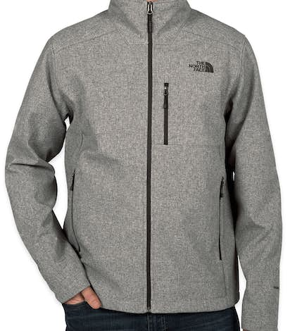 The North Face Apex Barrier Soft Shell Jacket - Medium Grey Heather