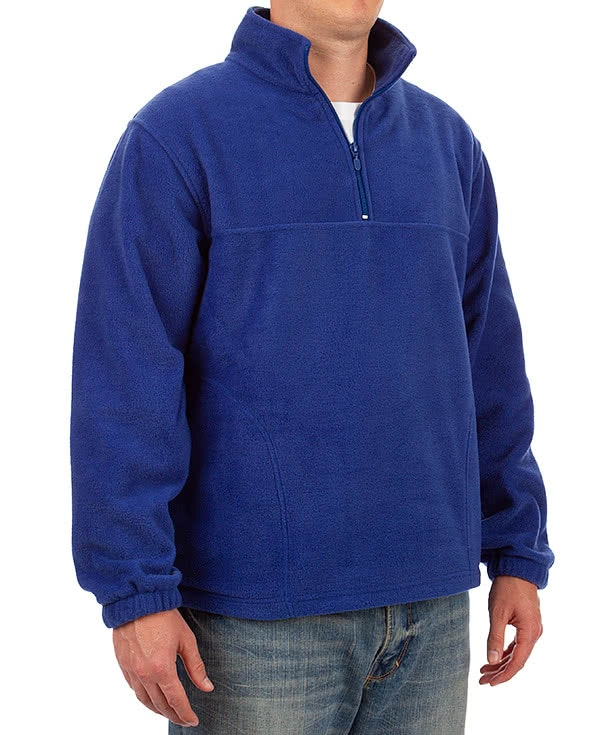 Custom Harriton Quarter Zip Fleece Pullover - Design Fleece ...