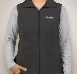 Columbia Ladies Benton Springs Fleece Vest - Color: Charcoal Heather
