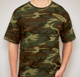 Canada - Code 5 Camo T-shirt - Color: Green Woodland