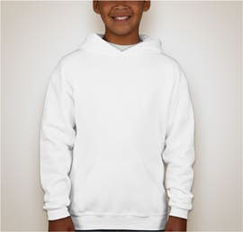 Jerzees Youth Nublend® 50/50 Pullover Hoodie - Color: White