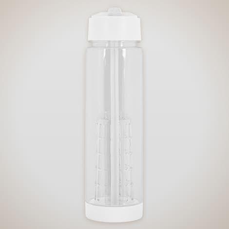 25 oz. Fruit Infuser Water Bottle - White