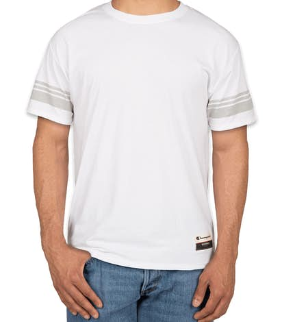 Champion Authentic Tri-Blend Varsity T-Shirt - White