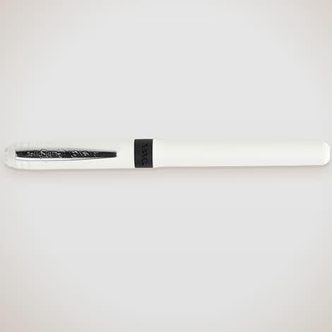 BIC Grip Roller Pen (black ink) - White